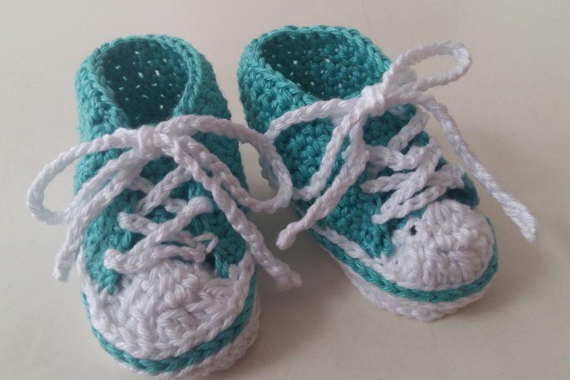 Baby sneakers haken