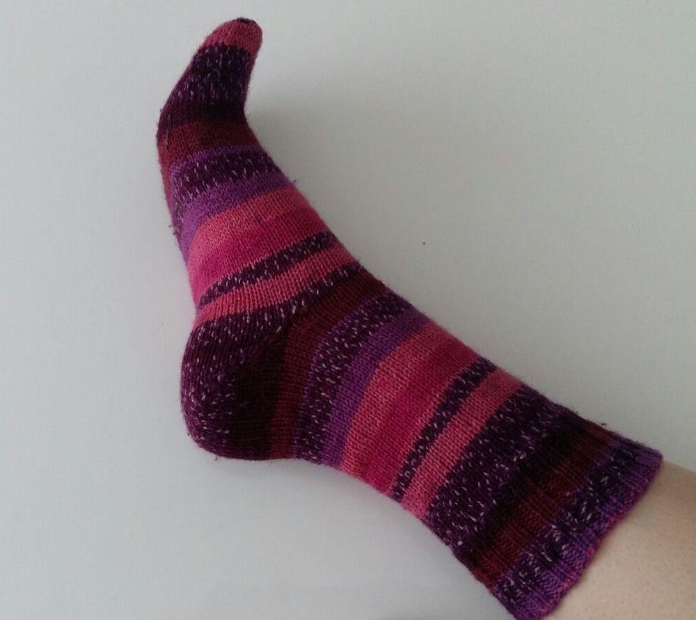 Paarse sokken